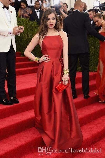 2017 Новая мода темно-красные вечерние платья плюс размер спагетти без спинки Criss-Cross знаменитости Платья вечеринка вечеринка вечером носить простой красный ковер доктор