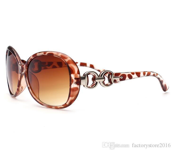 Kadın Marka Tasarımcısı Güneş Boy Vintage Kaplumbağa Çerçeve Lens Kadınlar için Retro Yuvarlak Güneş Shades Gözlükler Güneş Gözlükleri