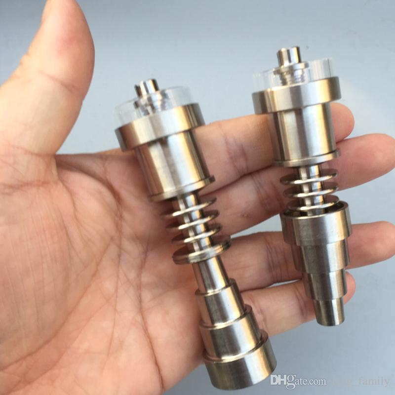 Anti-corrosion Quartz Titanium Nail Hybrid 20mm Coil Heater 10/14/18mm joint Electric Nail Dab Rig for Glass Water Pipe Nectar Collector