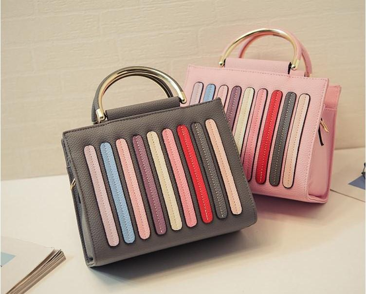 2017 New Bags. Collision Color. Women'S Bags. Fashion Casual Bag ...