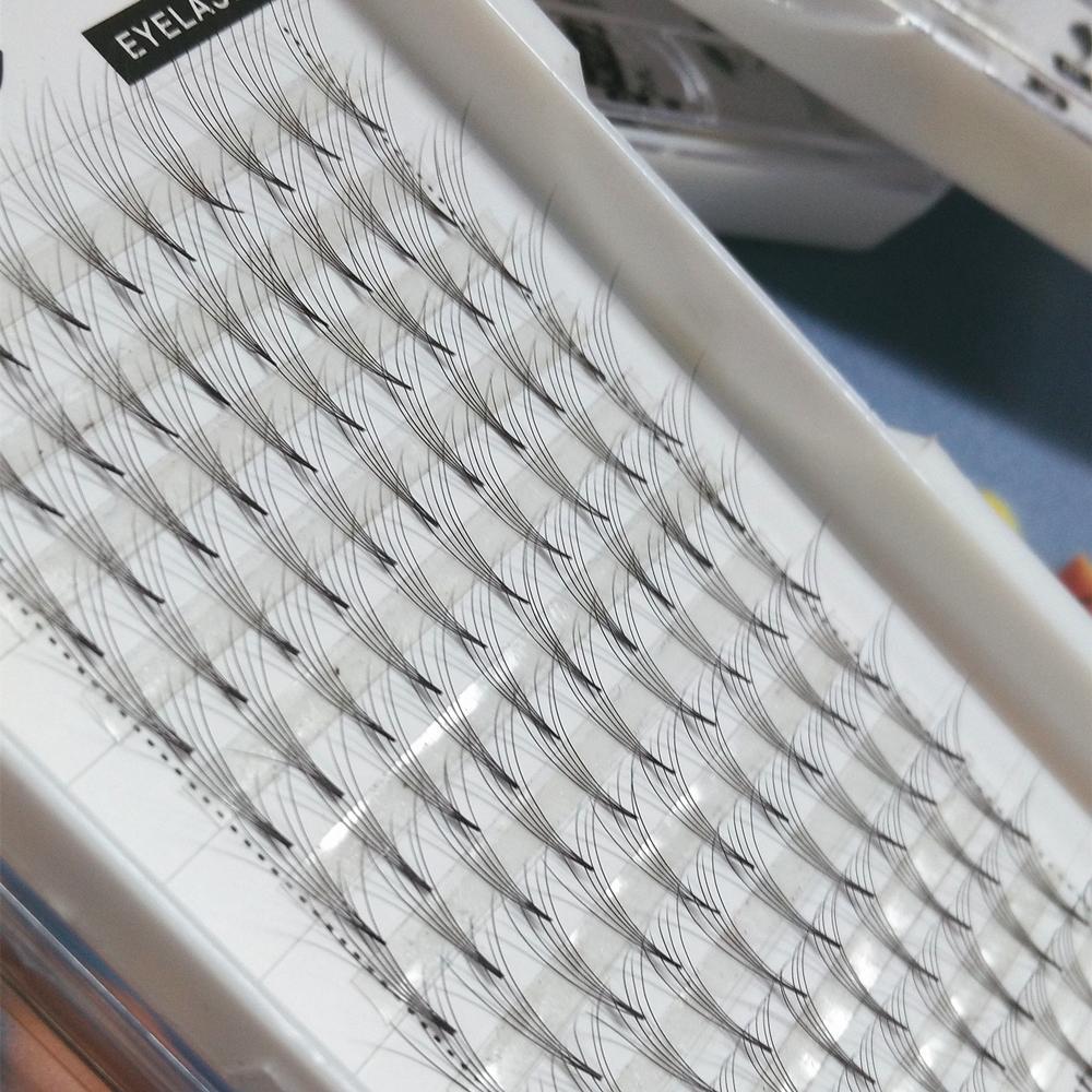 Top Korean lashes 9-15mm 5D False Eyelashes Extension 5D Lashes Lashes VOLUME Fans Flase Eyelashes Seashine