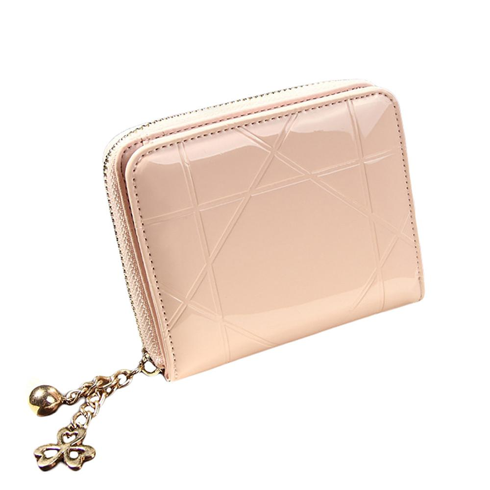 f67afc0969cf Wholesale- Women Coin Purses Holders Short Wallet Female Small Purse ...