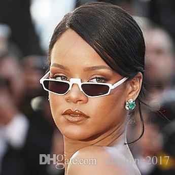 3faf32d1217 Boutique White Sunglasses Square Women S Transparent Warp Sun Glasses Brand  Designer Celebrity Rihanna Acetate Female Vintage Eyewear Gafas Eyeglasses  ...