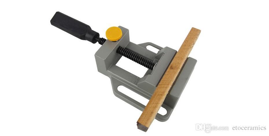 Aluminium mini-platte klem voor boorstandaard handgraveren Werkbank DIY Tool Frees Machine Handleiding Klemmen voor houtbewerking