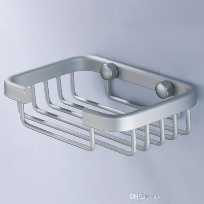 2018 New Arrival Space Aluminum Soap Dish Holder Soap Box Bathroom Shower  Soap Tray Rack Home Bathroom Storage Holders Ji0325 From Smileseller2010,  ...