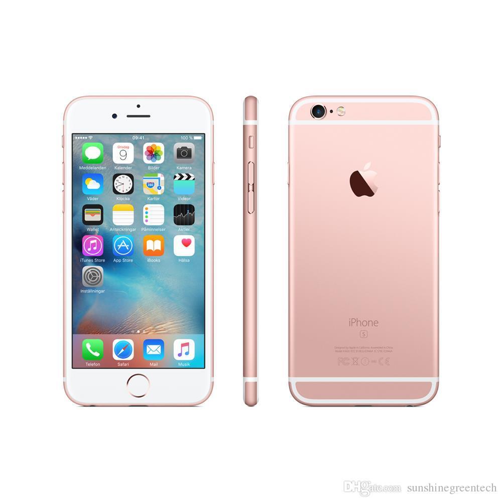 Telefoni ricondizionati iPhone 6s da 16 GB 64 GB Telefono cellulare IOS da 7,3 pollici originale ricondizionato Apple