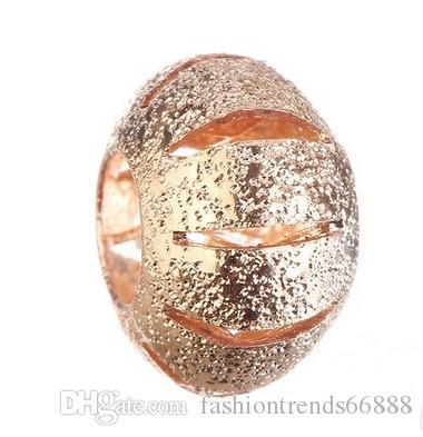 Großhandelshohle Kürbis-Korn-Charme-Silber-europäische Charme-Korn-passender Pandora-Armband-Schlangen-Ketten-Art- und Weiseeuropäischer DIY Schmucksachen