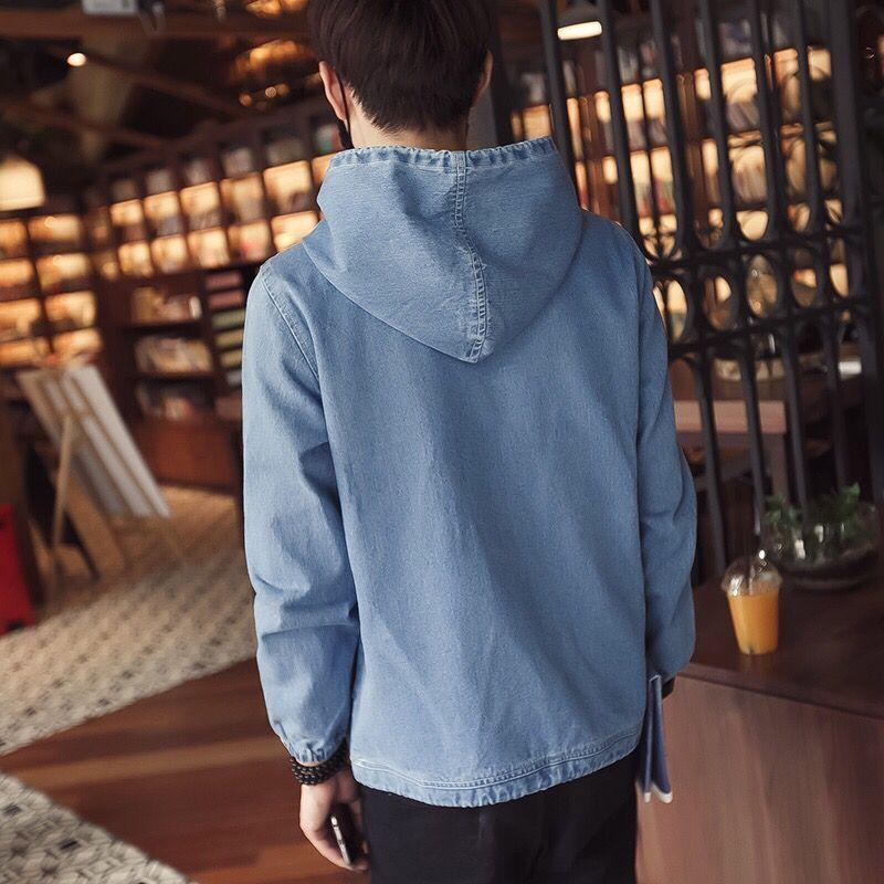 Mens Denim Pull Printemps Automne Nouvelle Mode Hommes Hoodies Mens Style Casual À Manches Longues Pull Hoodies Livraison Gratuite