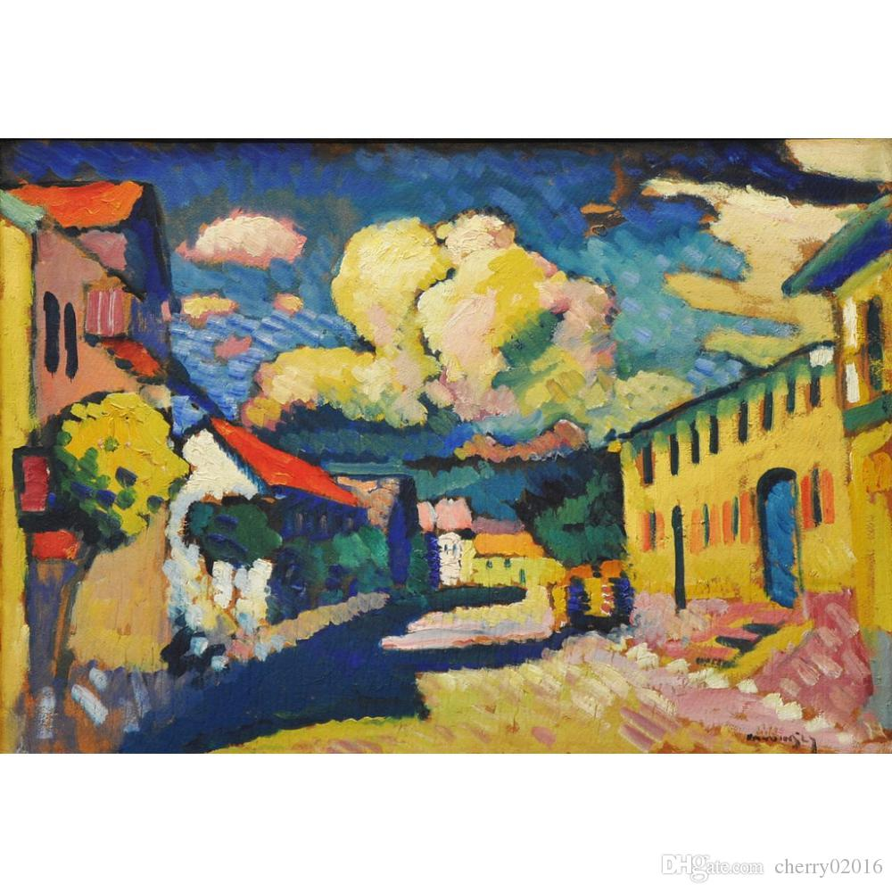 Acquista Dipinti Astratti Moderni Colorati Wassily Kandinsky Murnau ...