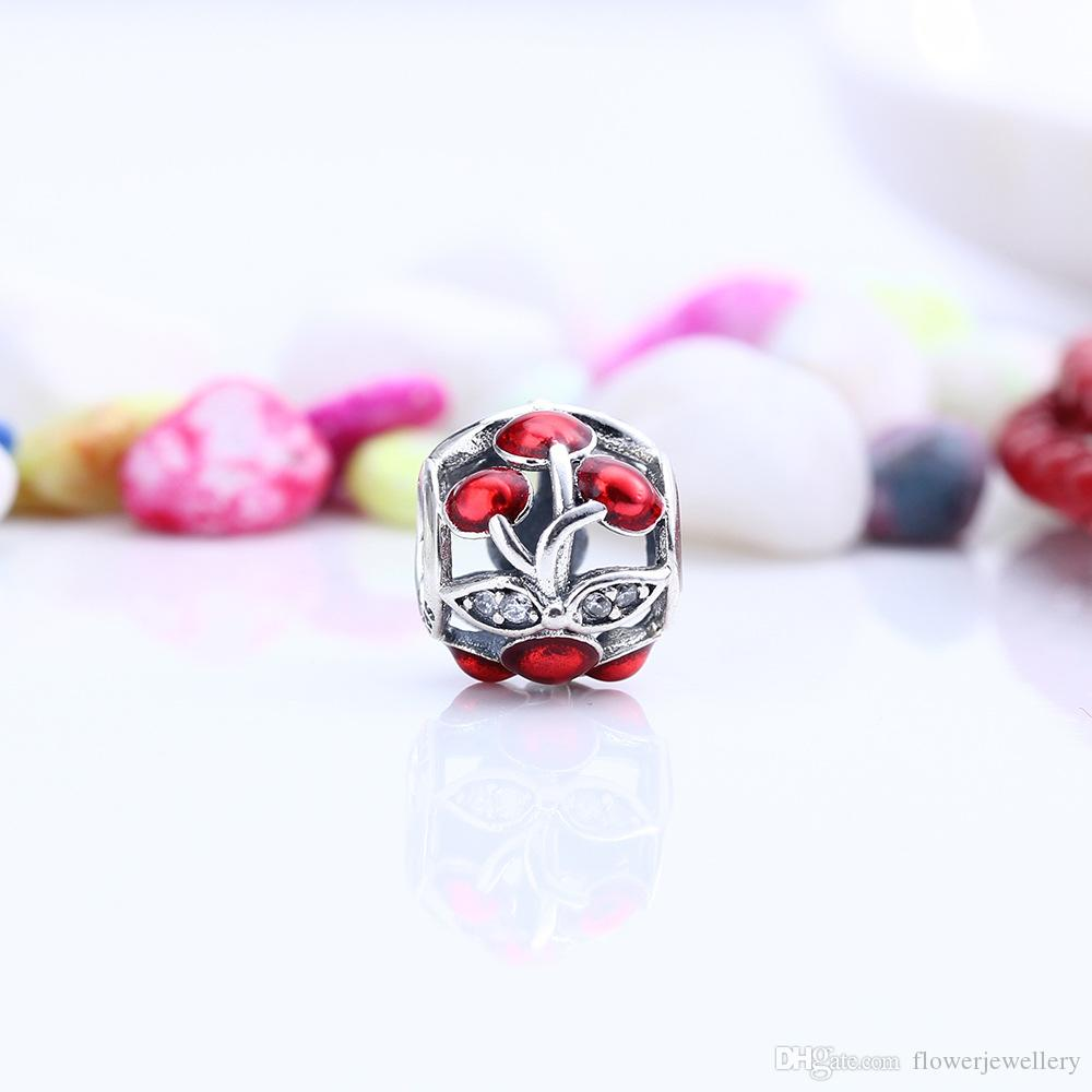 2017 european brand diy cherry charm bead fit sterling silver 2017 european brand diy cherry charm bead fit sterling silver pandora bracelets 791900en73 from flowerjewellery 947 dhgate sciox Images