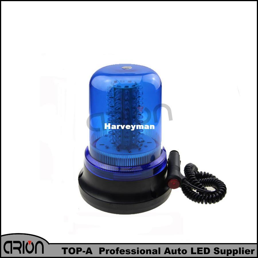 Camion Clignotante Led Bleu 60w Strobe Police Pompiers Ambulance Voiture 12v Lumière Lumières 120 Avertissement Lampe KFcT1lJ3