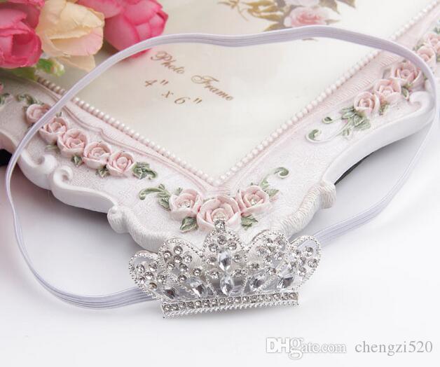 Niñas niños Baby Princess Party Crystal Crown Tiara Hair Head Band YH418