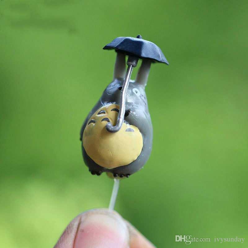 Moss Mikro Peyzaj Plastik Tırnak Bebek Süsleri Sabit Çubuk Pin Küpe Earpins Minyatür Bonsai Bebek Evi DIY Aksesuarları Masaüstü Dekor