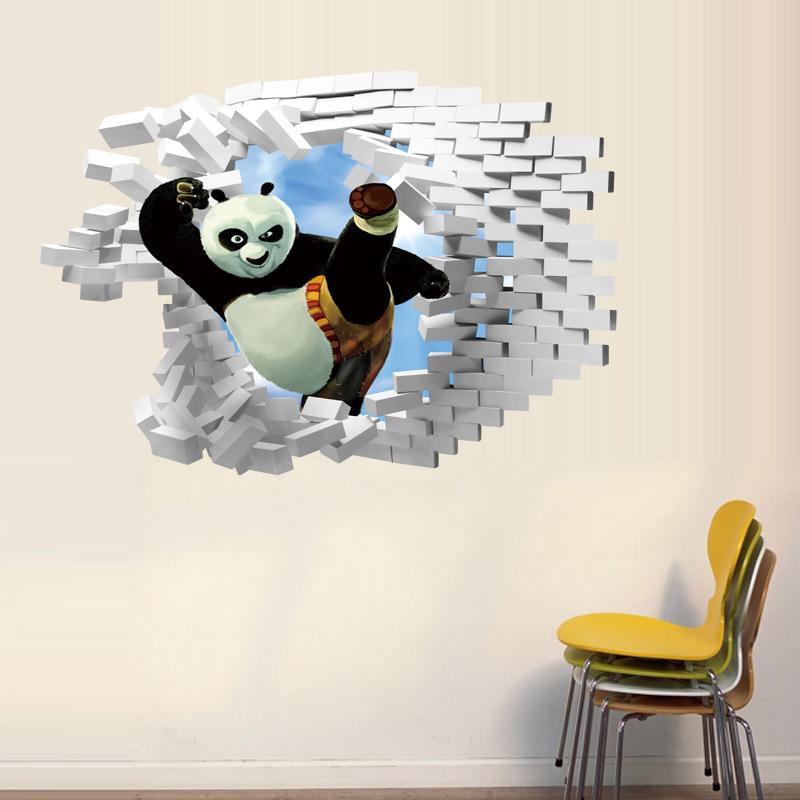 Kung Fu Panda Finding Nemo 3d Wall Sticker Home Décor Wall Decals Stickers  Wallpaper Rolls Removable Art Party Decoration For Kids Room Wall Decals  Cheap ... Part 82