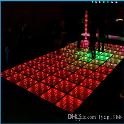 2017 New Led Tiles 3D Effect Dance Floor Lights 3D Led Dance Floor ...