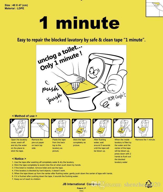 1 minute pongtu toilette einwegaufkleber kolbenaufkleber baggeranzug für sitze und bodentoilette 3 blätter Hygienestärke Nein Schmutzige lager