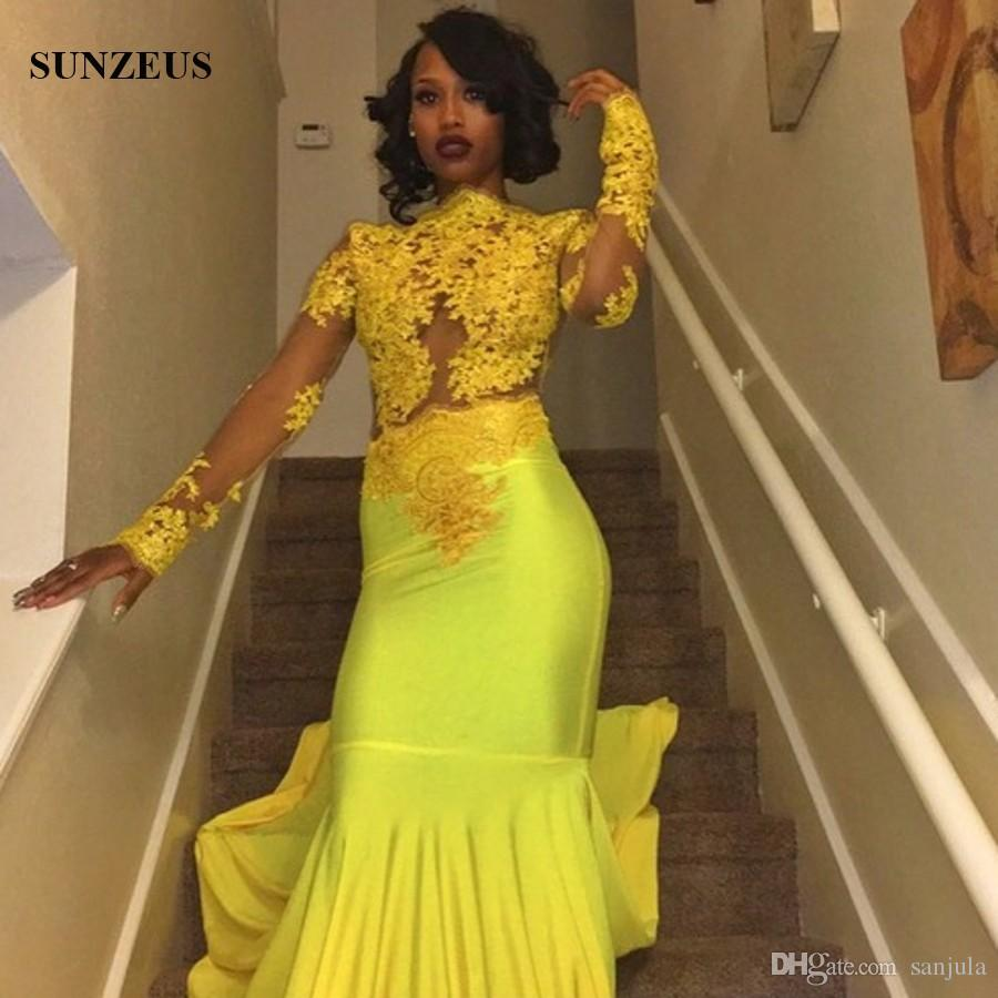 Yellow Prom Dresses For 2018 119