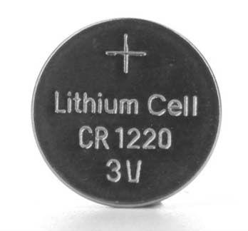 Großhandelsmünzenbatterie CR1220 3v Lithiumknopfzellen pro Los