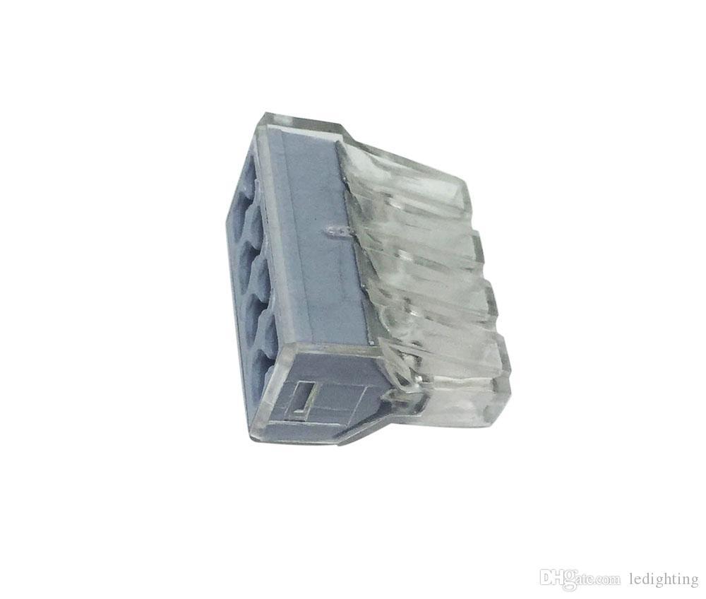 Разъем проводки провода нажима для блока * AWG NB-6 проводника Штыря распределительной коробки 6 терминального