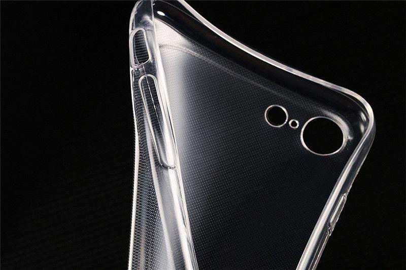 Ultra-İnce Yumuşak TPU Telefon Kılıfları 0.3mm Şeffaf Clear Için LG G2 G3 G4 PRO G5