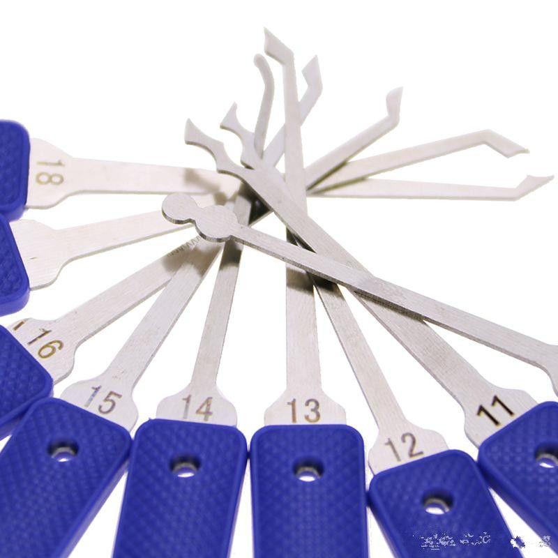 Original KLOM Lock Pick Tool Set Locksmith Tools Lock Picking Unlocking Tools Master Pickset Tooling System KL-318