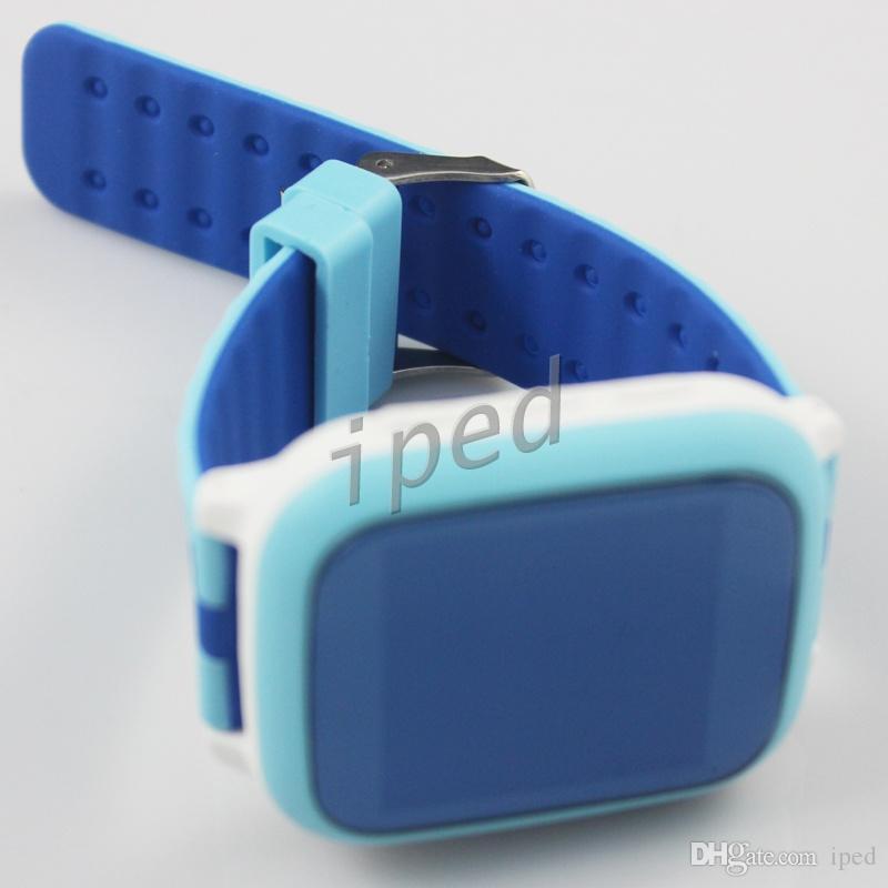 DS18 Smart Phone Watch Kid Armbanduhr Anti-Verlorene GPS WiFi Tracker Uhr Für Kinder SOS SIM Karte Smartwatch Für iOS Android Kinder billig 20 stücke