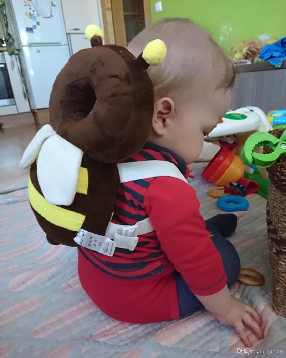 Cute Baby Head Restraints Toddler Protection Pad Fall