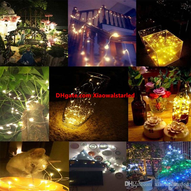 LED Solar String lamp Fairy Light Christmas Lights 10M 100 LED Copper Wire Xmas Wedding Party Decor Lamp Garland