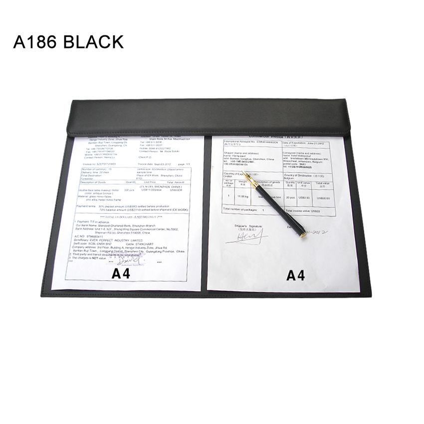 2018 Whole Ever Perfect Leather Office Desk A3 File Paper Clip Drawing Writing Board Pad Desktop Mat Black From Hogane 49 94 Dhgate Com