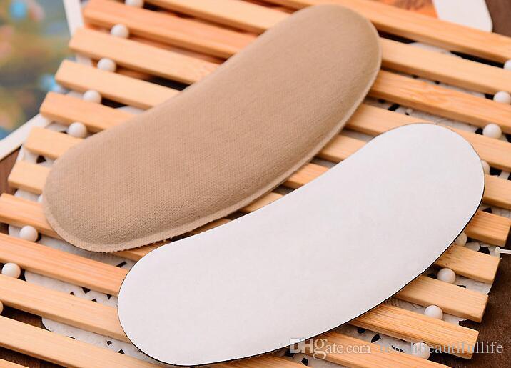 Alta qualidade 1 Pares de Silicone Gel Aperto Aperto Voltar Forro Sapato Almofada Palmilha sapato calcanhar almofada Cuidados Com Os pés Protetor pés cuidados