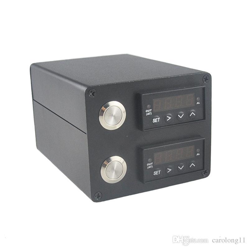 جديد الألومنيوم 3x5 بوصة لوحات تشمل آلة الصنوبري الصحافة سخان قضيب تحكم مزدوج pid مربي الحيوانات مع نوعية مزدوجة التدفئة الحبل مربي الحيوانات