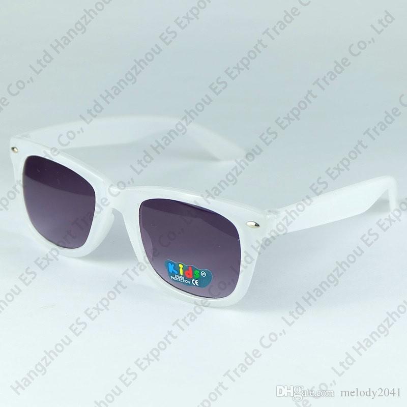 12 Renkler Güncelleme Renkli Şeker Çocuklar Güneş Gözlüğü Sıcak Satış Klasik Çocuk Güneş Gözlükleri Karışık 8 Renkler 20 adet Ücretsiz Gönderi