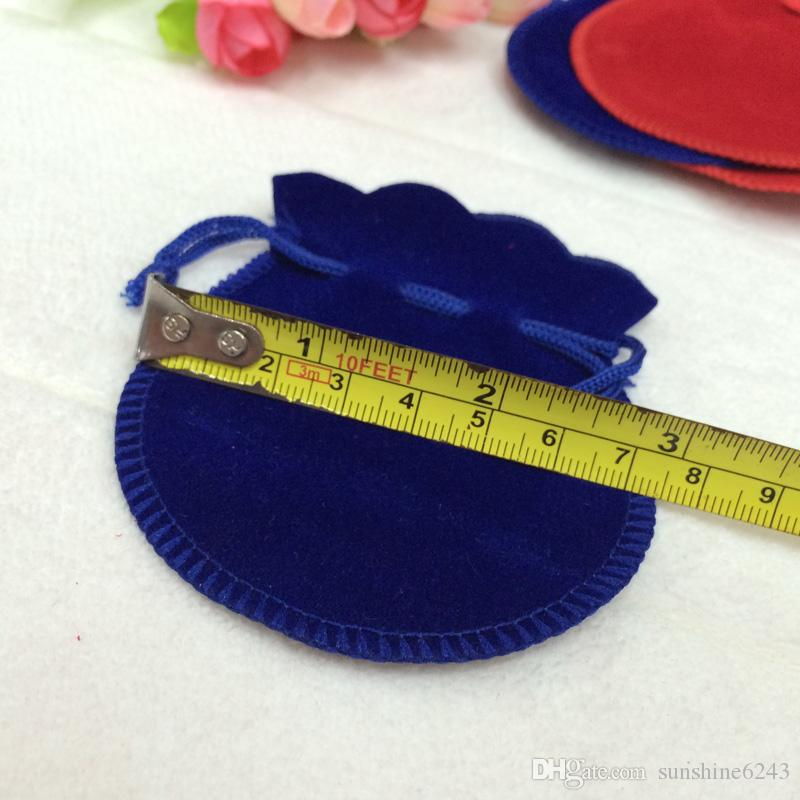 Bijoux Pochettes Bague Boucles D'oreilles Pendentif Charme Emballage Sac Bundle cadeau Sacs Taille 7.5 * 9.5cm livraison gratuite