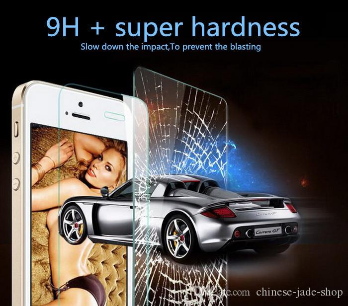 9H Tempered Glass screen protector For IPHONE 13 12 11 Pro max X XR XS 6 6S 7 8 PLUS /