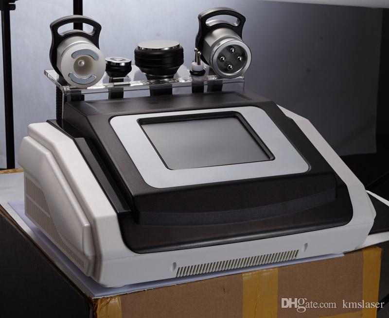 40 Кавитация Ультразвуковой Удаления Целлюлита RF Кожи Лифтинг Радиочастотный Многополярный Тела Вакуума Для Похудения Машина
