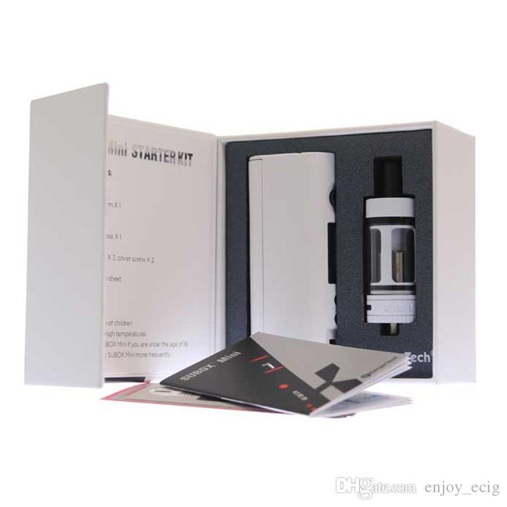 Kanger Subox mini Starter Kit with 4.5ML Subtank Nano Atomizer 50W Kbox design from mini subox kit free ship DHL
