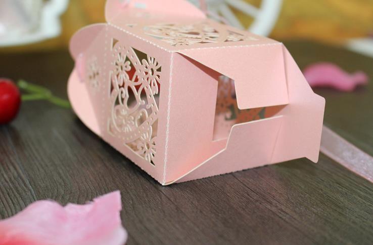Caixas De Bombons Caixas De Bombons Oco Caixas De PresenteCaixas De Presente De Casamento Favor Embelezador Favor Do Casamento Do Papel Perolado Europeu Design Criativo