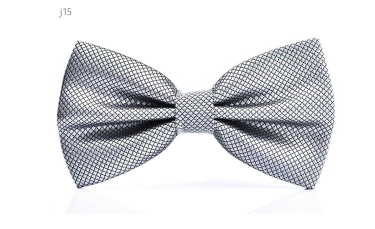 Moda gravata para homens camisa de vestido novo adulto bowtie cheque bowknot festa de casamento gravatas acessório / lote