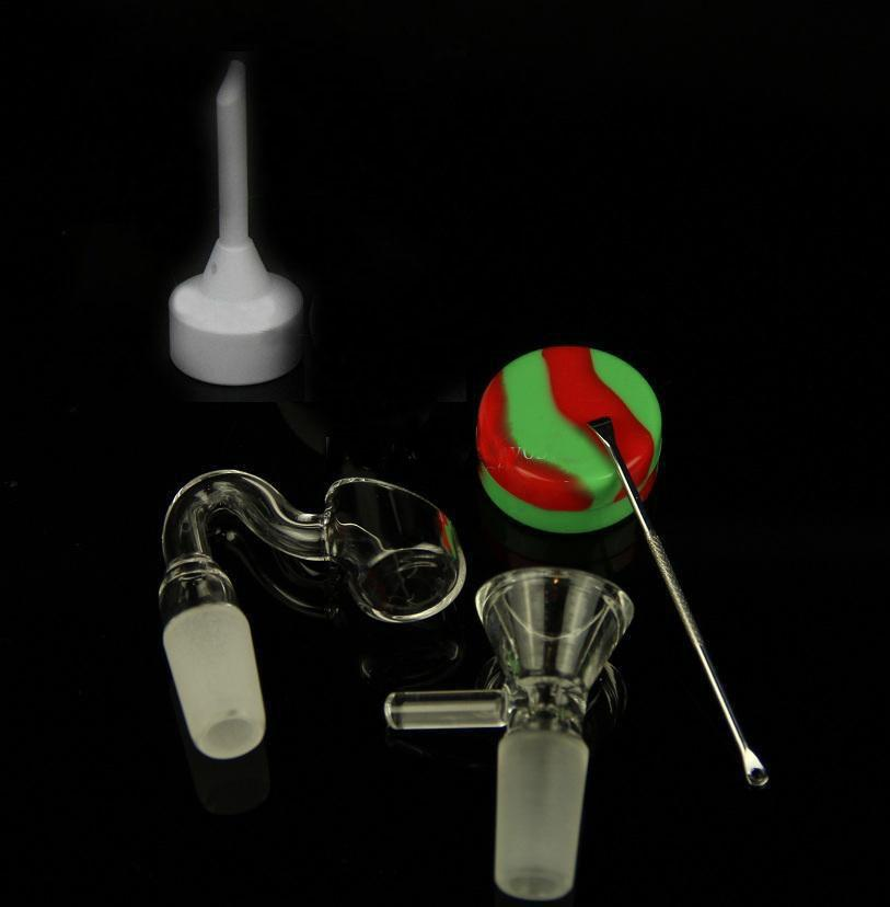 Neueste Glasbong-Öl-Rig-Bongs-Wasserleitungen Fab Ei Bong Bunte Glas Bubbler-Rohre