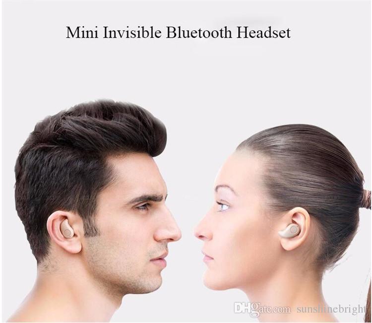 S530 smallest mini Bluetooth earphone wireless micro earbuds headset handsfree headphone earphones for iphone 6 6S plus for Samsung s7 s6