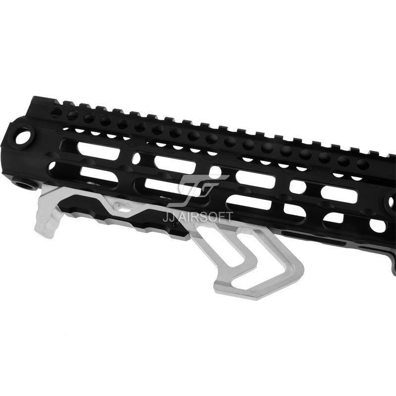 ACI MOD FOREGRIP M-LOK / MLOK 흑색 / 적색 / 황갈색 알루미늄 스트랩에 대한 각진 포어 그립 손 멈춤 장치 핸드 스트랩