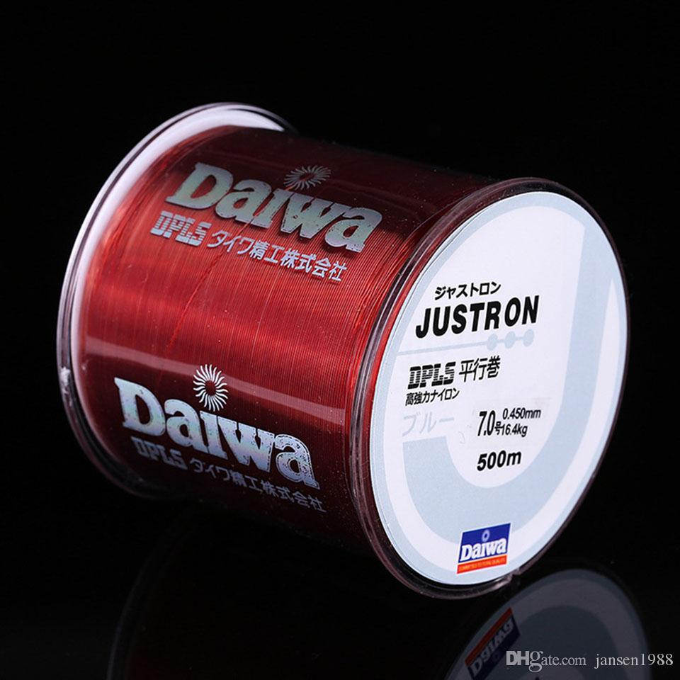 2018 Daiwa Nylon Fishing Line 500m 2lb 4lb 10lb 35lb Super Strong ...
