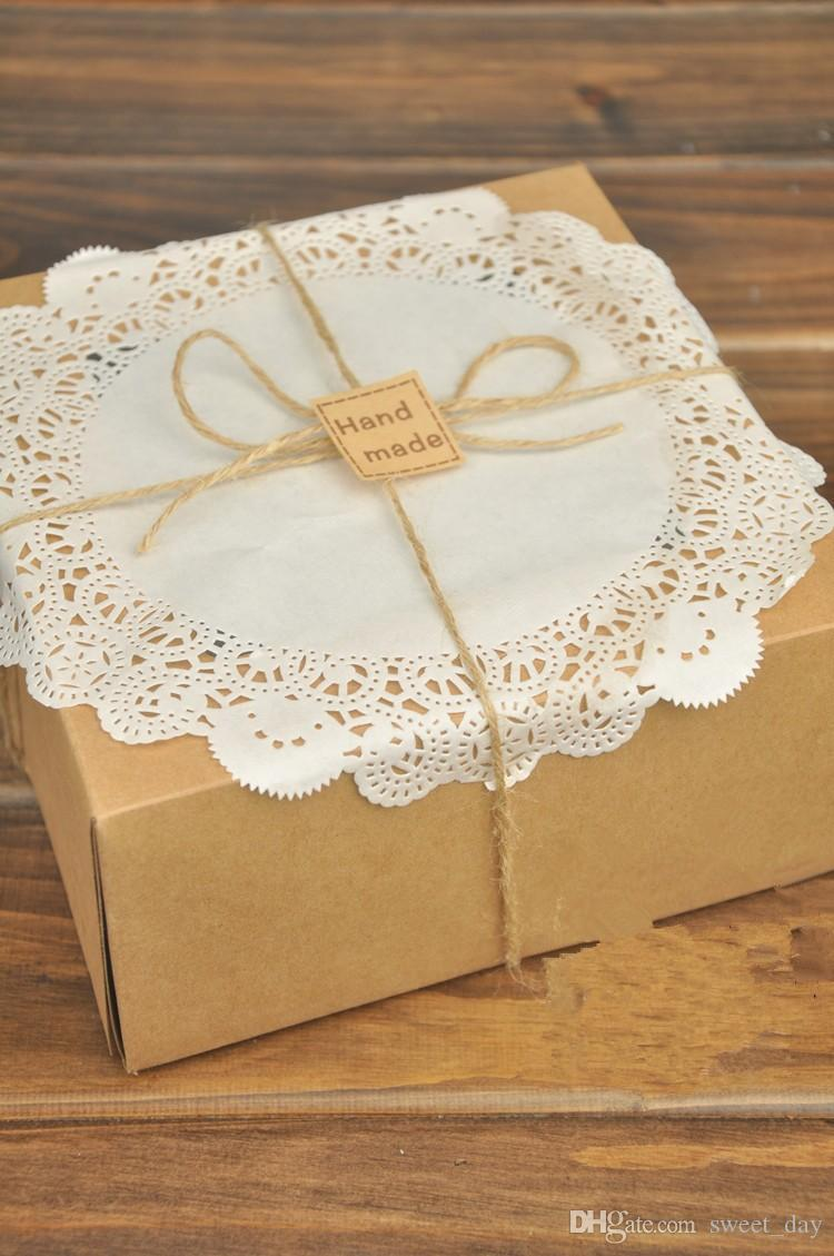 high quality paper doyleys cake doyley oil absorbing sheet paper doily bakery package decoration supplies favors