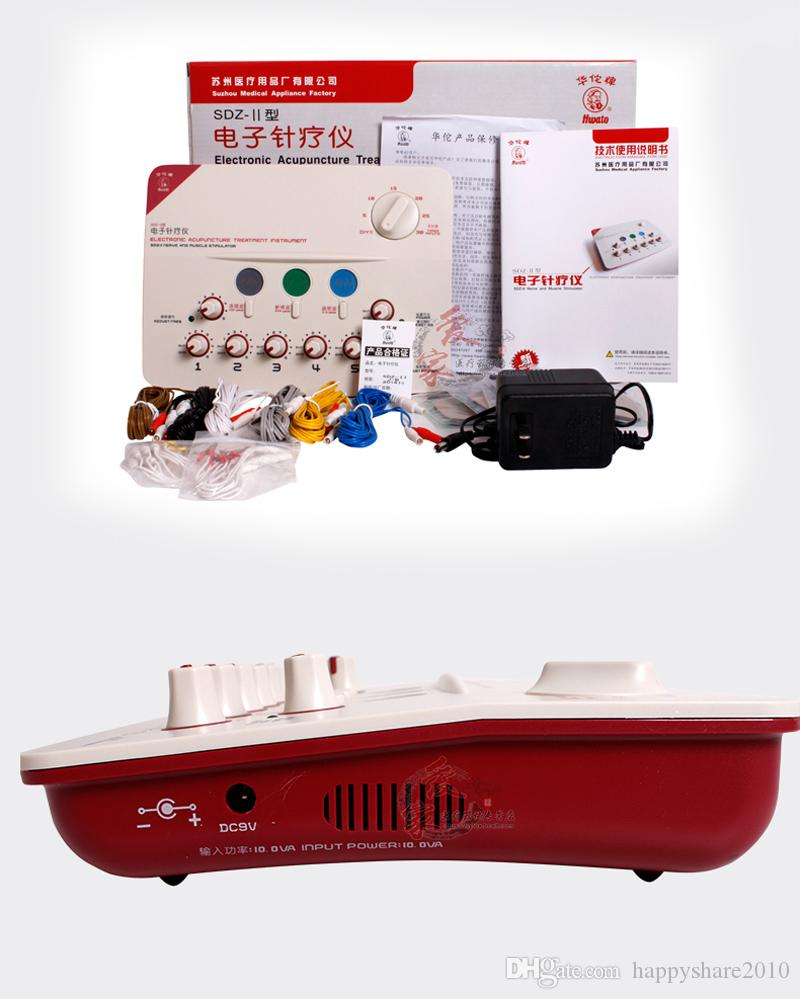 NEW SDZ-II Treatment Instrument Low-Frequency electroacupuncture stimulation Stimulator Machine Nerve Muscle Massage Relax Health Gadgets