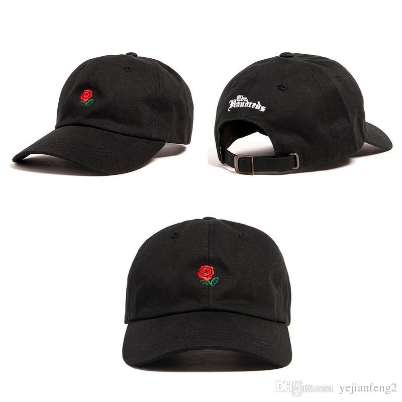 f20833b1 New Casquette The Hundreds Fist Dad Hat Rose Strap Back Cap Man Woman Bone  Swag Golf Snapback Cap Baseball Hat Hatland Brixton Hats From Yejianfeng2,  ...