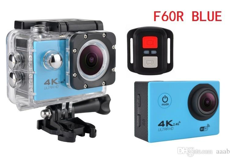 2018- Action camera F60R 4K 30fps 1080p 60fps WiFi 2.0
