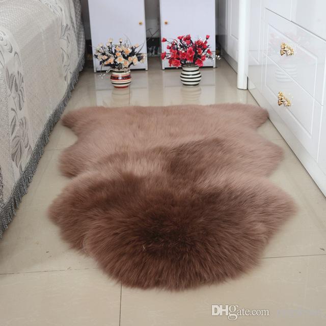 Grosshandel 100 Fell Wolle Teppich Schlafzimmer Wohnzimmer Ganze