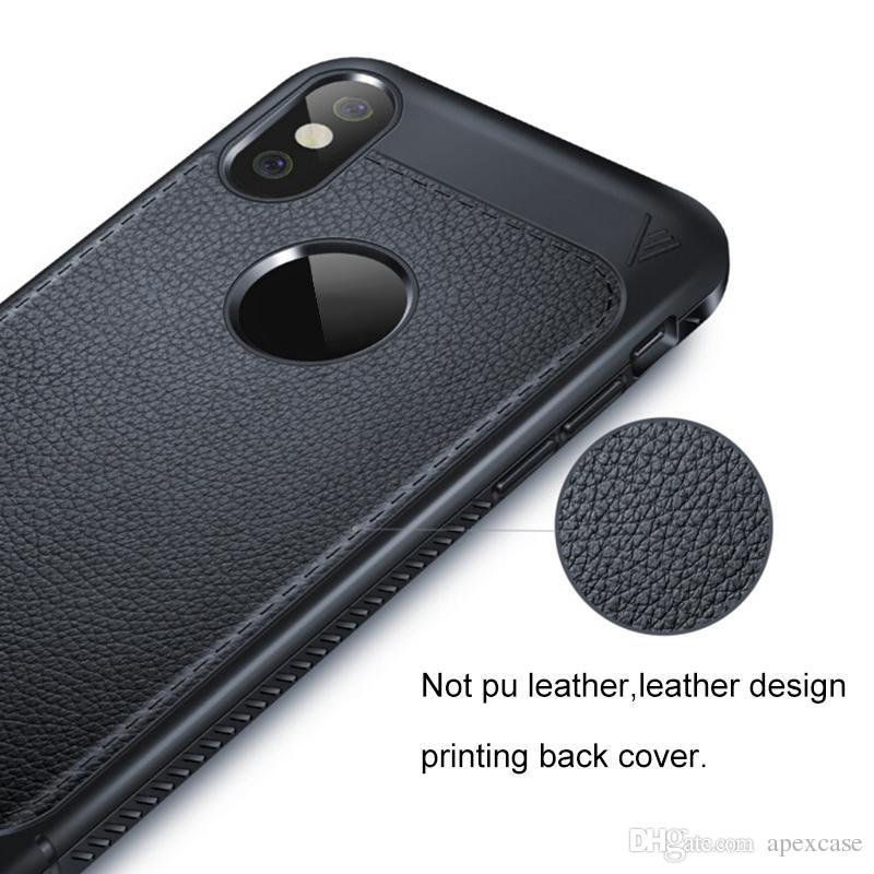 Iphone X Telefon Kılıfı için Yeni Sıcak Satış TPU lüks Stria Telefon Kapak Cep Cep Telefonu Kılıfı not 8