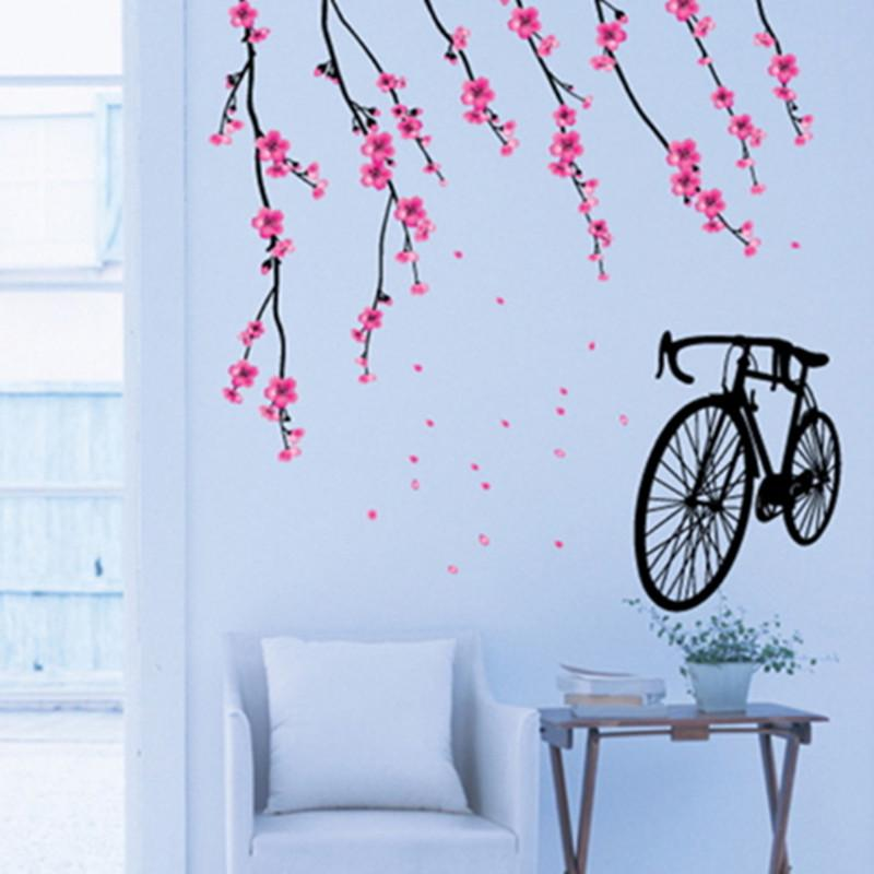 Bicycle Wall Stickers Children Removable Wallpaper Children Kid Room Cute  Hot Sale Decor Large Paper Adhesive Decoration Home Buy Wall Decal Buy Wall  Decals ...