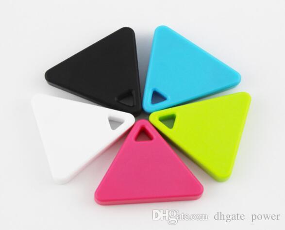 Mini Triángulo Inalámbrico Inteligente Anti Perdedor de Alarma Localizador GPS Para Niños Mascotas Bolsa Monedero Llavero Pedent
